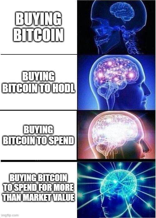 How to Spend Bitcoin for More Than It's Worth